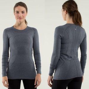 lululemon athletica Tops - LULULEMON Swiftly Tech Shirt Top 10 Grey long
